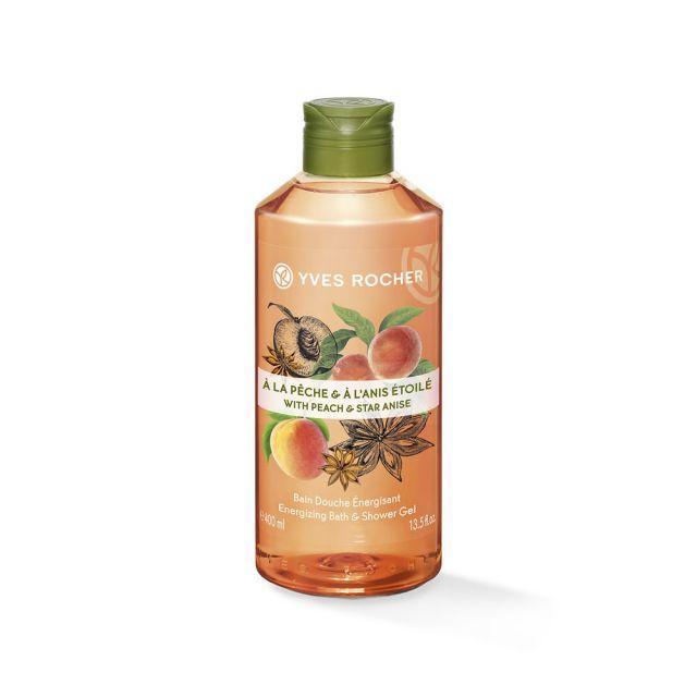 תמונת מוצר - ג׳ל רחצה עונג הטבע אפרסק וכוכב אניס 400 מ״ל מסדרת Plaisirs Nature 2 - מחיר המוצר 25.0000 ש״ח