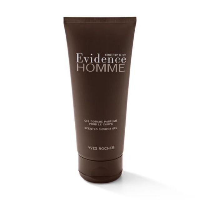 תמונת מוצר - ג׳ל רחצה מבושם    Evidence לגבר מסדרת Evidence Homme - מחיר המוצר 38.0000 ש״ח