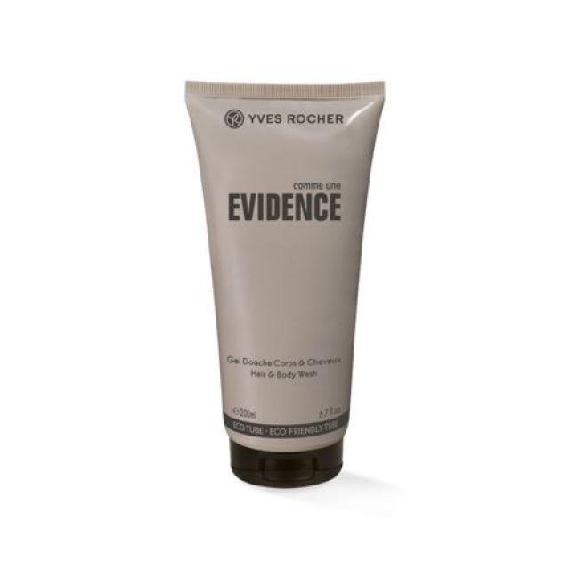 תמונת מוצר - N EVIDENCE ג'ל רחצה מבושם לגבר מסדרת Evidence - מחיר המוצר 38.0000 ש״ח