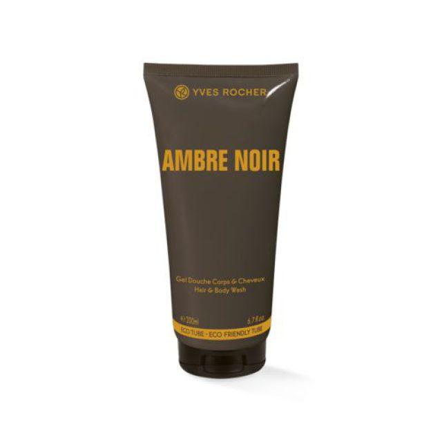 תמונת מוצר - N Ambre noir ג׳ל רחצה מבושם לגבר מסדרת Ambre Noir - מחיר המוצר 38.0000 ש״ח