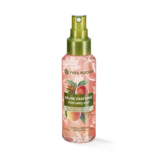 תמונת מוצר - ספריי גוף ושיער עונג הטבע בניחוח אפרסק כוכב אניס מסדרת Plaisirs Nature 2 - מחיר המוצר 49.0000 ש״ח