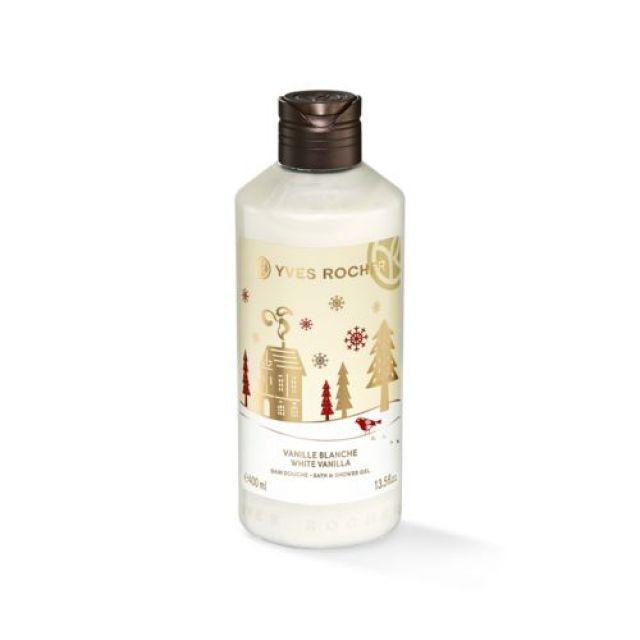 תמונת מוצר - ג׳ל רחצה וניל לבן 400 מ״ל מסדרת Christmas 2018 - מחיר המוצר 23.0000 ש״ח