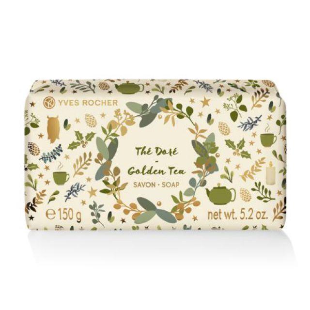 תמונת מוצר - סבון מוצק בניחוח גולדן תה מסדרת Passover 2019- Limited Edition - מחיר המוצר 19.0000 ש״ח