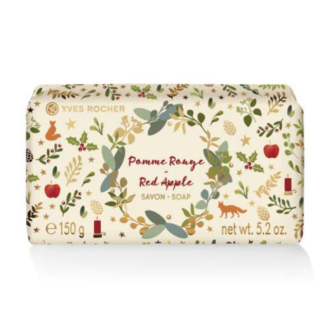 תמונת מוצר - סבון מוצק בניחוח תפוח אדום מסדרת Rosh Hashana 2019- Limited Edition - מחיר המוצר 19.0000 ש״ח
