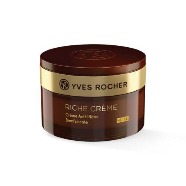 תמונת מוצר - RICHE CREME קרם לילה נגד קמטים מסדרת Riche Creme 2 - מחיר המוצר 219.0000 ש״ח