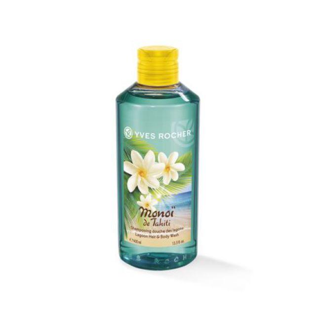 תמונת מוצר - שמפו וג'ל רחצה בניחוח מונוי מסדרת Monoi De Tahiti - מחיר המוצר 39.0000 ש״ח