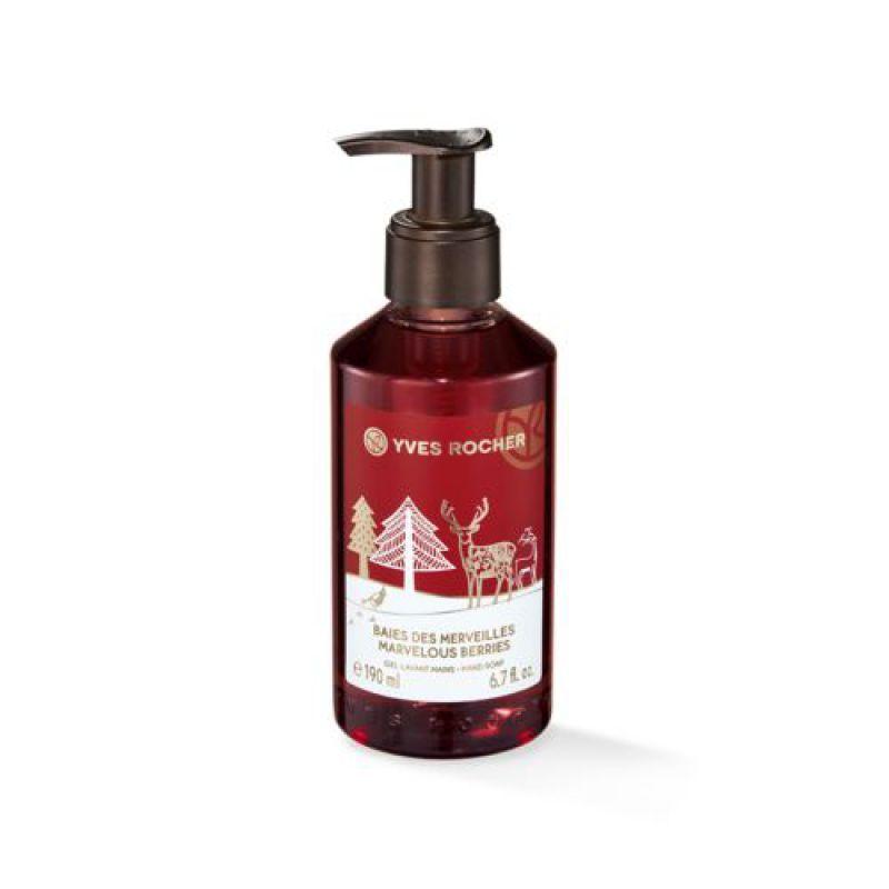 תמונת מוצר - סבון ידיים פירות יער וחמוציות 190 מ״ל מסדרת Christmas 2018 - מחיר המוצר 16.0000 ש״ח